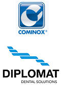 Dental surgery equipment featuring Diplomat Dental Solutions and Cominox Sterilisation technology